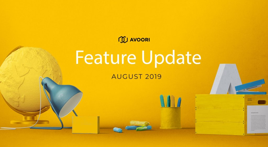 August Feature Update